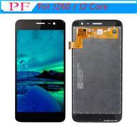 Betyg A +++ LCD för Samsung Galaxy J260 / J2 Core LCD-skärm Touch Screen TFT Digitizer Assembly LCD-ersättning Inga döda pixlar