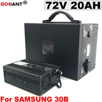 Bafang için 72 V 20AH E-Bike Lityum Pil 1000 W 1500 W Motor Elektrikli Bisiklet Pil 72A Samsung 18650 için hücre ile 5A Şarj