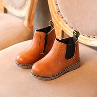 Fashion Trend Spring and Autumn New Kids Martin Boots Boys L...