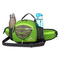 Cintura ao ar livre Packs À Prova D 'Água Multifuncional Bolsos com Suporte para Garrafa De Água Mochila de Ombro para Caminhadas Ciclismo Escalada Camping Viagem