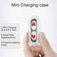 tw10 СПЦ Bluetooth наушники отпечатков пальцев Touch наушники HD стерео Беспроводной наушники с шумоподавлением игровые наушники