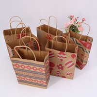 Delicate Paper Bags for Christmas Cute Christmas Gift Bag Fa...