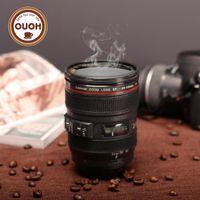 عدسة القهوة الجديدة محاكاة الكاميرا كوب بيرة كأس كأس كأس نبيذ بدون غطاء أسود كعكات بلاستيكية كعك محلاة 480m126 M126 MUG-20