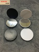 빈 유리 전화 케이스 스탠드 홀더를 인쇄 DHL 유니버설 라운드 거울 핸드폰 홀더 3M 접착제 UV