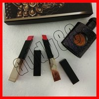 2019 New Y brand 3 in 1 makeup set matte lipstick perfume co...