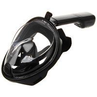 الغوص كامل الوجه القيادة المكس سباحة الغطس كامل الوجه قناع السطح للتنفس تحت الماء مكافحة تعفير 180 درجة النسخة لL / XL