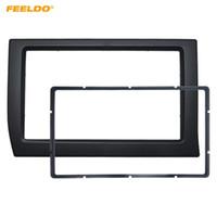 FEELDO Car 2Din Panel Fascia Frame For Citroen Elysee 2006 Stereo Radio Dash Fitting Kit Installation Bezel Plate Face Frame Kit #2231