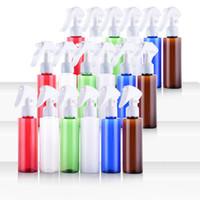 (30pcs / lot) 100ml botella vacía de la bomba de aerosol verde 3,5 oz botella de spray desinfectante disparador botella de plástico bricolaje