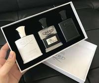 HIGH QUALITY Credo Parfüm 3 PC-Sätze Aventus Tweed Silberbergwasser Duft lang anhaltende Zeit Eau de Cologne 30ml * 3