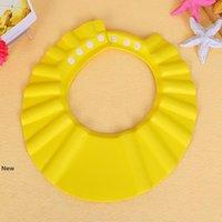 Baby EVA Einstellbare Duschhaube Shampoo für Kinder baden Kind Baby Gesundheit Kinder-Wäsche-Haar-Schild Batch Hat LJJA3304-2 schützen