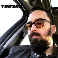 YOOSKE Sunglasses Men Classic Driving Sun Glasses Retro Eyew...