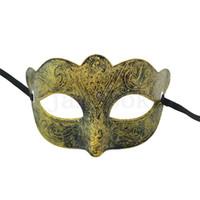 Hot Dancing Party Mask uomo donna donna artificiale barone maschera colore cappuccio viso antico greco roma maschera halloween 8style da135