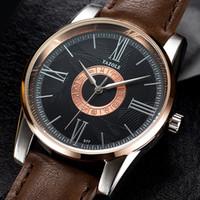 Yazole377 캐주얼 시계 별자리 남성 쿼츠 시계 배달 남성용 시계 벨트 선물 별자리