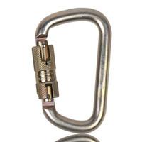 Famoso de 45 kN Escalada Locking Carabiner para dispositivos atinentes a uma Climbing Harness principal Locks em forma de D