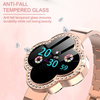 S6 Smart Watch Women Heart Rate Salute Sport Bracciale quadrifoglio Calcolatrice di calorie Fitness Tracker Orologio da polso Bluetooth