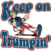 Car Styling populaires Paster 2020 Amérique du président autocollants d'élection Keep On Trumpin Donald Trump Stickers Hot Vente 1 6JW E19