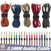 SKYLET 3.5mm AUX AUXILIAR CABLE DE 1,5M / 5FT macho a macho Cable de audio estéreo para PC del coche de MP3