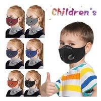 Sport-Gesichtsmaske für Kinder Outdoor Sports staubdicht atmungsaktiv Waschbar Schutz Radfahren Maske Aktivkohlefahrrad Maske CCA12402 120pcs