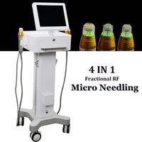 2021 Máquina de remoción de cicatrices Microneedle fraccionado RF Piel Apretar el tratamiento del acné 2 Manejar las marcas de estiramientos Cara CUIDADO CUERPO