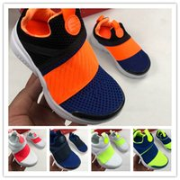 (BOX) High Quality youth prestos Children Running Shoes Jogg...
