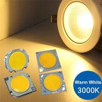 3 W/5 W/7 W/10 W/15 WCOB LED chip integrado fuente de lámpara para Vdeo Cámara Super brillante lámpara de luz blanco/blanco cálido