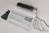 3 in 1 russischen Wellen TENS EMS EMS Elektrische Muskelstimulator Maschinen Physiotherapie Fern Infrarot EMS Muskelstimulator mit Bio-Mikroströmung