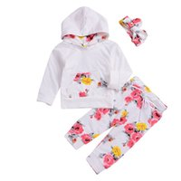 New Infant Toddler Newborn Baby Girls Floral Outfit Clothes ...