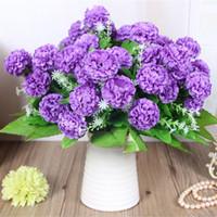 2020 ortanca yapay çiçek çiçeği buket / ev / düğün Dekorasyon yapay çiçekler gelin buketi Çiçek gerçek Dokunmatik