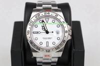 2 Renk Sıcak Satış En Kaliteli GM Maker 42mm Explorer 216570-0001 0002 904 Çelik Üst CAL.3187 Hareketi Otomatik Mens Watch Saatler