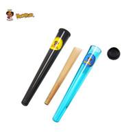 Tabaco plástico Doob tubo Stash Jar 115mm hierba del envase Honeypuff cigarrillos Rolling Paper Cono Tubo píldora del Pre-roll Preroll