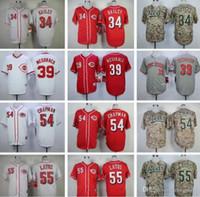 2020 мужчин женщин детей 34 Homer Bailey 39 Devin Mesoraco 54 Aroddis Chapman 55 Мэтт Латос сшитые Бейсбол Бейсбол