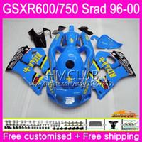 Cuerpo para Suzuki New Srad GSXR Bueno 750 600 1996 Top 1997 1998 1999 2000 Kit 1hm.0 GSX-R750 GSXR-600 GSXR750 GSXR600 96 97 98 99 00 Carreyo
