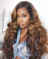 Peruvian Loose Wave Ombre Lace Wig Full Lace Human Hair Wigs...