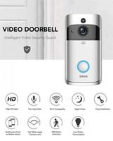 Оригинальный EKEN WIFI дверной звонок Беспроводной видеодомофон 720p HD PIR домофон IP-камера двусторонняя аудио 166° широкоугольный объектив камеры безопасности