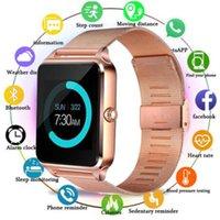 100pcs Z60 montre smart watch 1,54 pouces écran couleur Étape sommeil surveillance réveil intelligent Porter Bluetooth Sports Card Watchs POUR: IPHONE Samsung