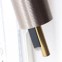2019 microblade U18 إبرة 316 الفولاذ المقاوم للصدأ رقيقة للغاية 0.18 يو شكل شفرات microblading إبرة بليد نانو الوشم الإبر