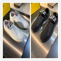 Fashion Man Casual Shoes luxury Designer Sneaker Genuine Lea...