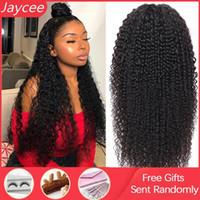 13x6 koronki przednia peruka kręcone ludzkie włosy peruka brazylijski remy włosy jerry curl koronki przednie ludzkie peruki perruque cheveux humain