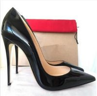 Free Shipping So Kate Styles 8cm 10cm 12cm High Heels Shoes Red Bottom Nude Color Genuine Leather Point Tding Shoes