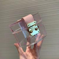 Sac à main cosmétiques Sacs à main Sacs transparents vente chaud de haute qualité Dernière Mode PVC gelée claire Esthéticiens Case bourse