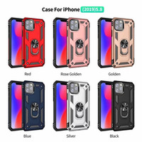 Case Kickstand Armor Covers+ Prim Magnet Phone case For iPho...