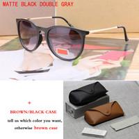 Toptan-2018 Moda Yuvarlak Güneş Gözlükleri Vintage Erkekler Kadınlar Marka Tasarımcı Sunglass Retro Kedi Göz Erika Güneş Gafas óculos De Sol
