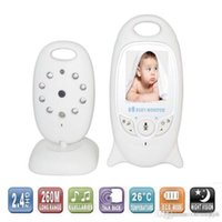 Baby Monitor 2. 4GHz Color LCD Audio Two- Way Talk Night Visio...