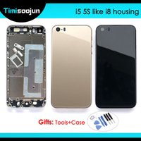 For Iphone 5 5G like 8 and iphone 5S SE Like 8 style Housing...