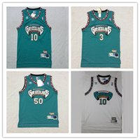 ec92704e3e3 New Arrival. Vintage Mens Vancouver Mike Bibby Bryant Reeves Grizzlies Basketball  Jersey #10 Cheap Mike Bibby Shareef Abdur Rahim 3 Stitched Shirts ...