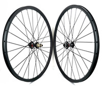29er mtb xc الدراجة عجلات الكربون 27 ملليمتر العرض 23 ملليمتر عمق الكربون هوكلس هوك مع محور navatec 791/792