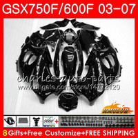 Body kit For SUZUKI KATANA GSXF600 GSXF750 03 04 05 06 07 3H...