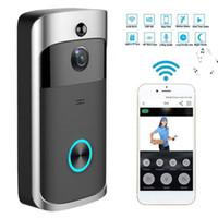 V5 Smart IP WiFi Video-Türklingel Gegensprechanlage Visueller Video Türklingel Wifi-Kamera HD 720P IR-Nachtsicht-WLAN-Sicherheitskamera