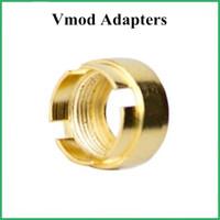 Alta calidad VapMod VMOD reemplazo magnético adaptadores anillos magnéticos conectores 510 hilo para cartuchos envío gratis