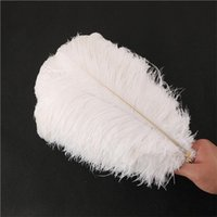 15inch (30-35cm) Piume di struzzo Diy accessori Plumes Craft in centro di cerimonia nuziale Wedding Party Event decorazione festive decorazioni 14 colori